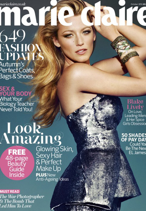 Blake Lively - Marie Claire UK
