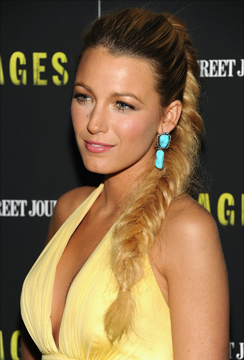 Blake Lively - Savages screening NYC