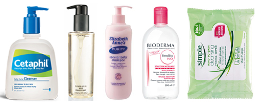 Favourite Five: Make-up Removers