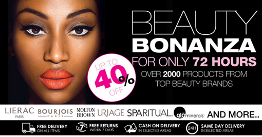 Style36 Beauty Bonanza - Up to 40% off for 72 hours only!