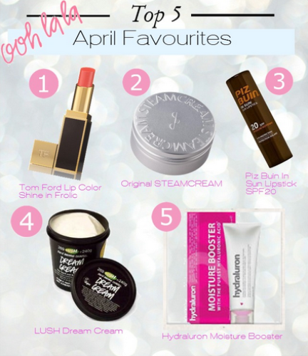 Camilla's April Favourites