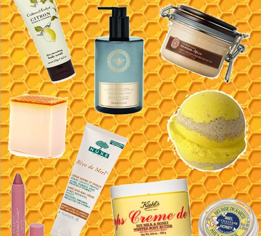 Honey-based beauty products