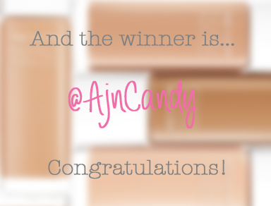 And the winner is... AjnCandy! Congratulations!