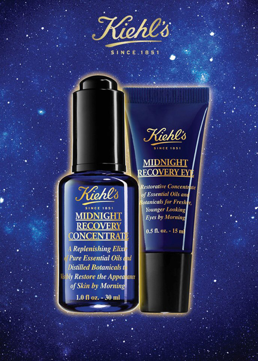 Kiehls Midnight Recovery Concentrate and Midnight Recovery Eye