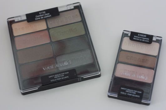 Wet n Wild Comfort Zone and Walking on Eggshells Eyeshadow Palettes | All Dolled Up