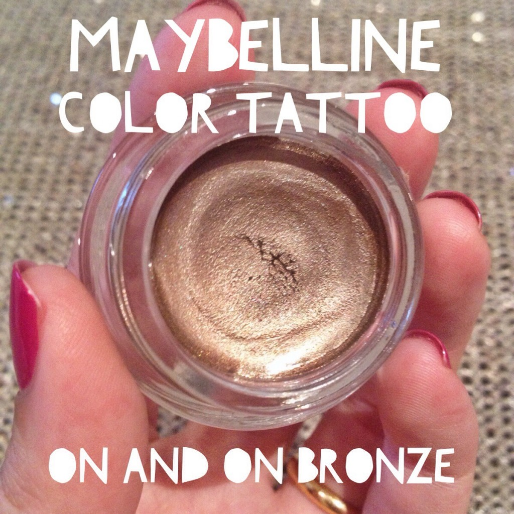 Maybelline Color Tattoo in On and On Bronze | All Dolled Up