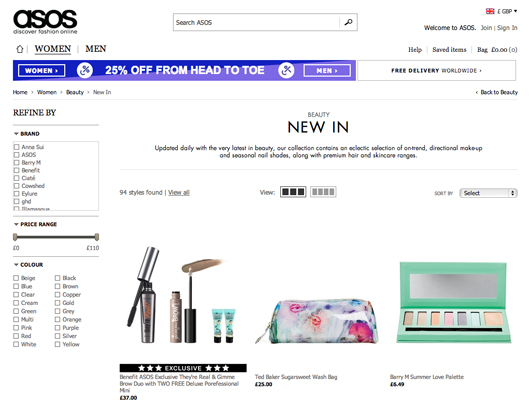 Online shopping in South Africa ASOS | All Dolled Up