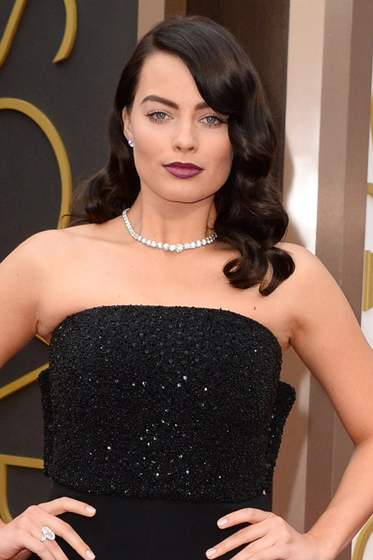 Margot Robbie at the Oscars 2014 | All Dolled Up