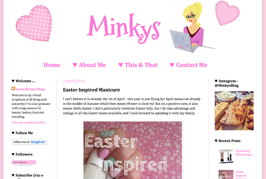 Beauty Read of the Day - Minkys Blog | All Dolled Up