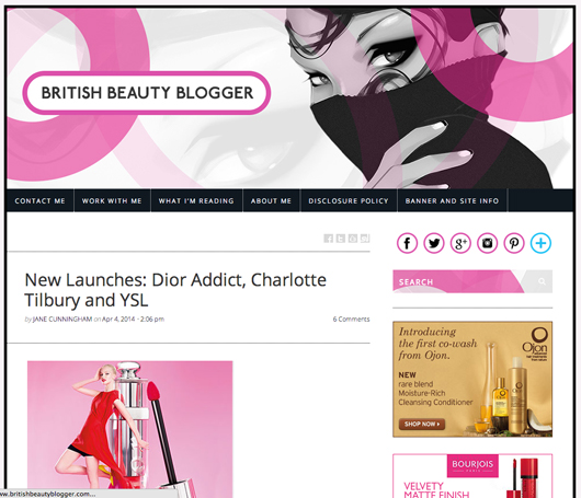 Beauty Read of the Day - British Beauty Blogger | All Dolled Up