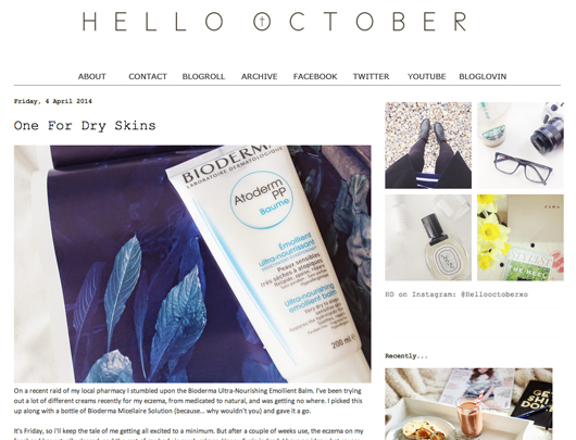 Beauty Read of the Day - Hello October | All Dolled Up