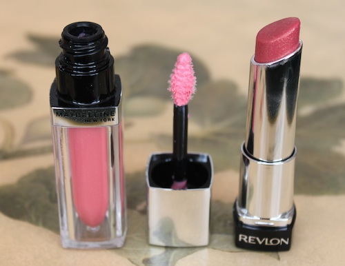 Maybelline and Revlon