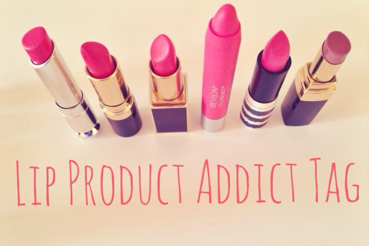Lip Product Addict Tag