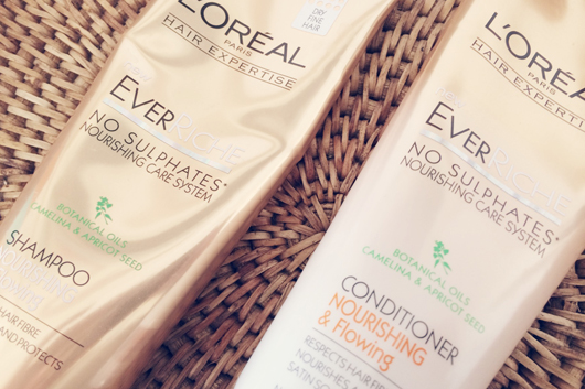 L'Oreal EverRiche Nourishing and Flowing Shampoo & Conditioner