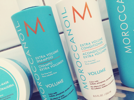 Moroccanoil Extra Volume Shampoo and Conditioner | All Dolled Up