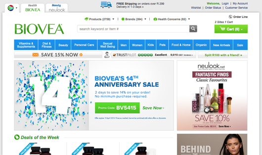 Biovea - Online shopping South Africa