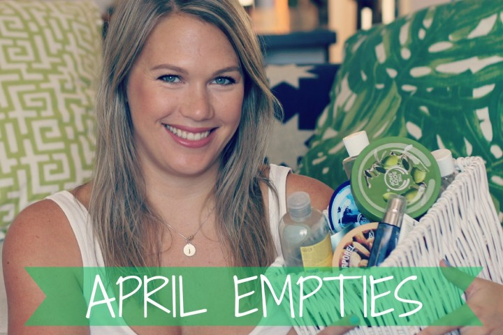 Product Empties - April 2015 | All Dolled Up