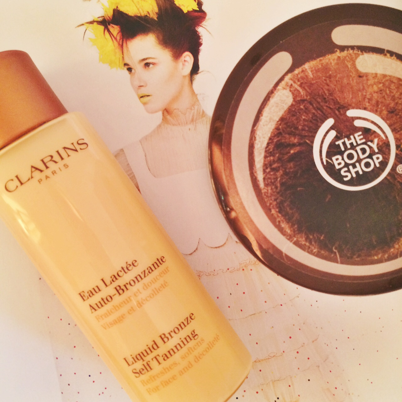 Winter skincare - Clarins and The Body Shop | All Dolled Up