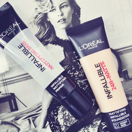 L'Oréal Infallible Foundation and Primer   All Dolled Up