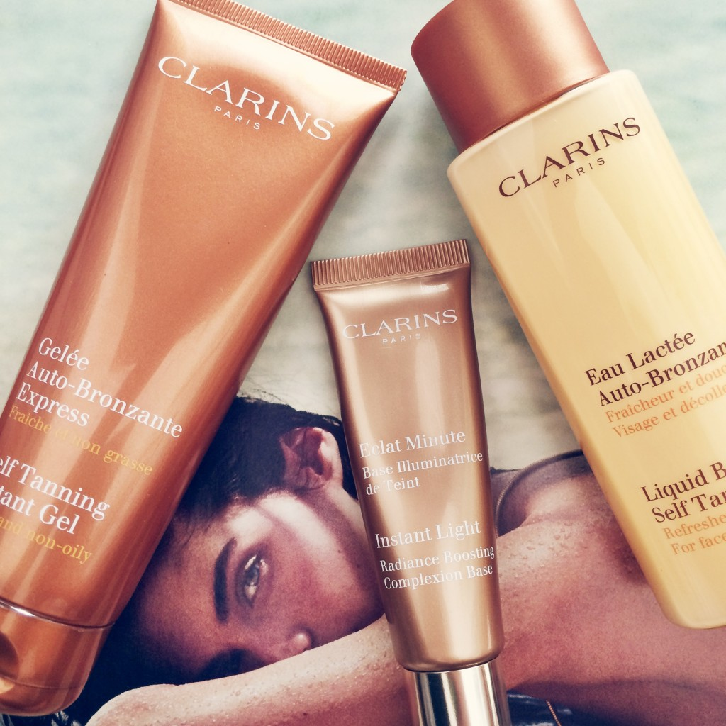 Clarins Facial Tanners