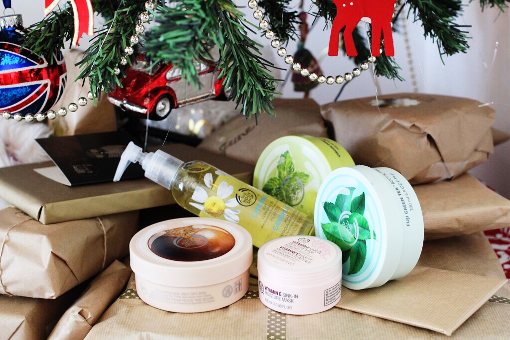 The Body Shop hamper   All Dolled Up 10 Days of Giveaways