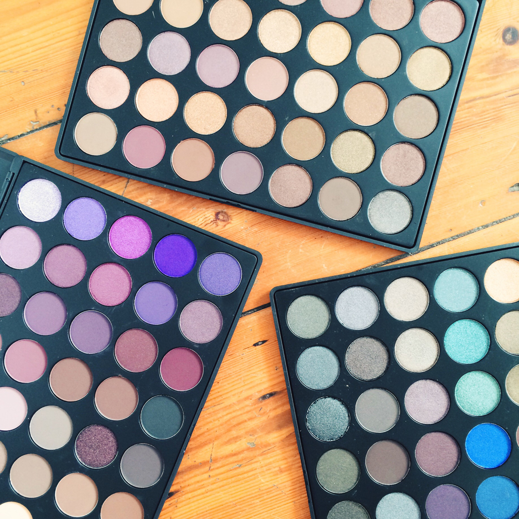Morphe 35T, 35P and 35D Eyeshadow Palettes | All Dolled Up
