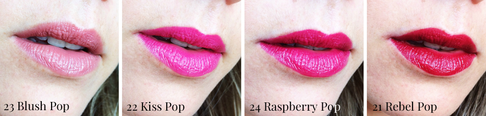 Clinique Lip Pop Colour + Primer Swatches | All Dolled Up