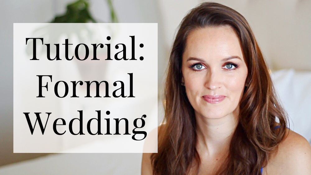 Tutorial Black Tie Wedding Guest Make Up All Dolled Up