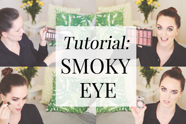 Urban Decay Smoky Palette Tutorial