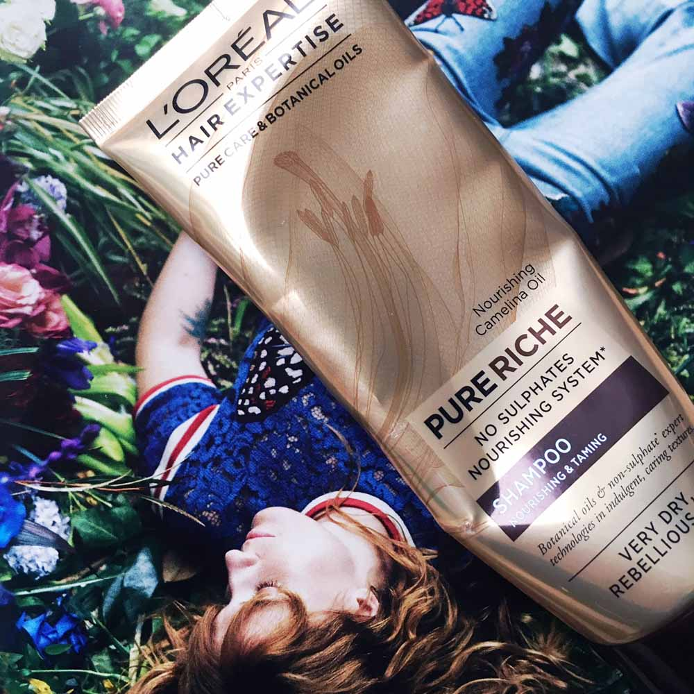 L'Oréal Hair Expertise Pure Riche Shampoo