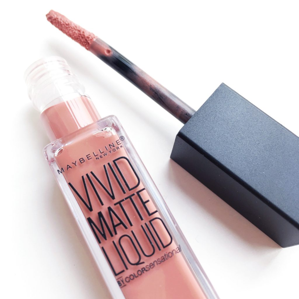 Maybelline Vivid Matte Liquid in Nude Thrill
