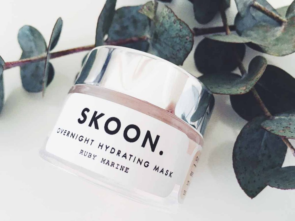 SKOON Ruby Marine Overnight Hydrating Mask