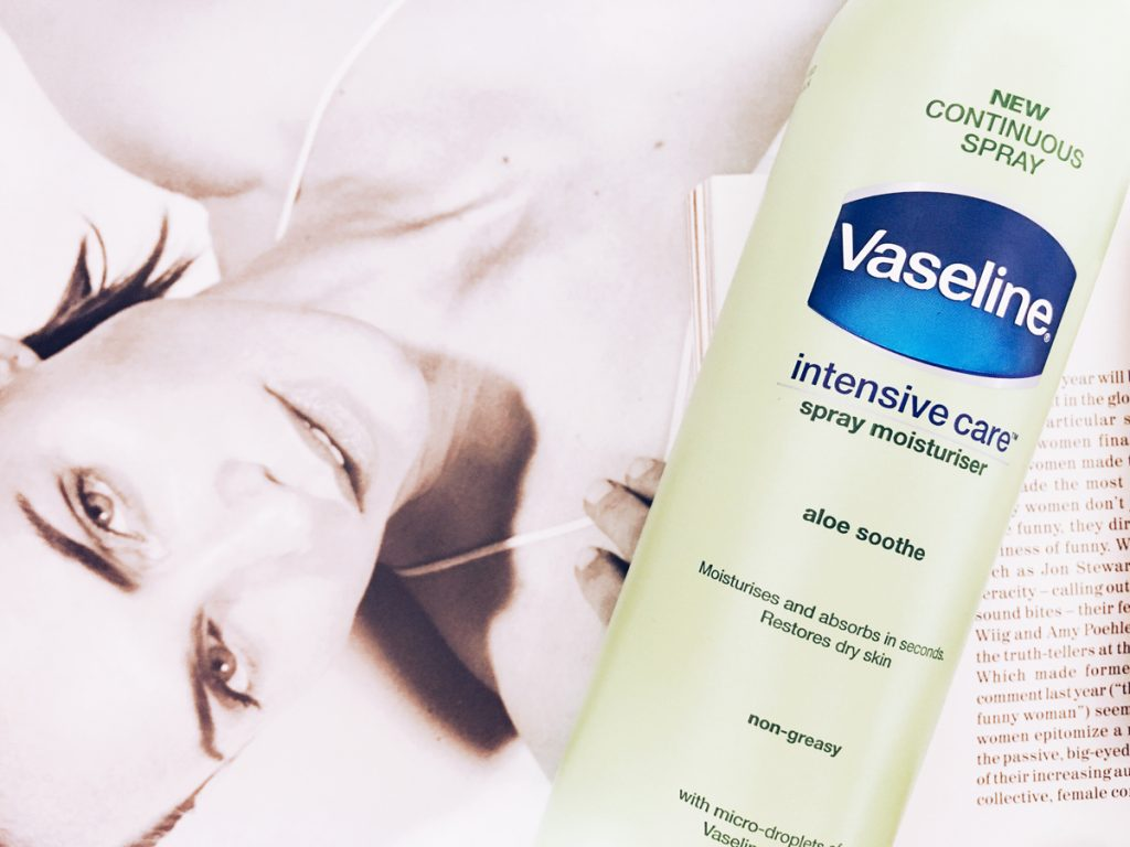 Vaseline Intensive Care Spray Moisturiser | All Dolled Up