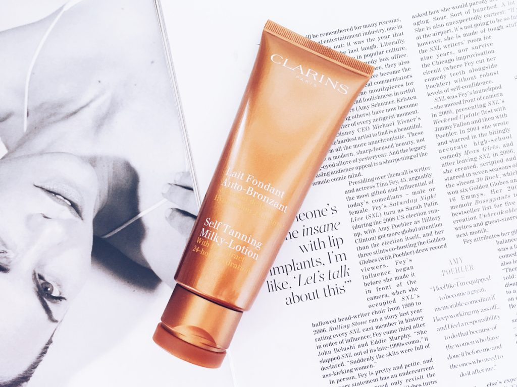 Clarins Self Tanning Milky-Lotion | All Dolled Up