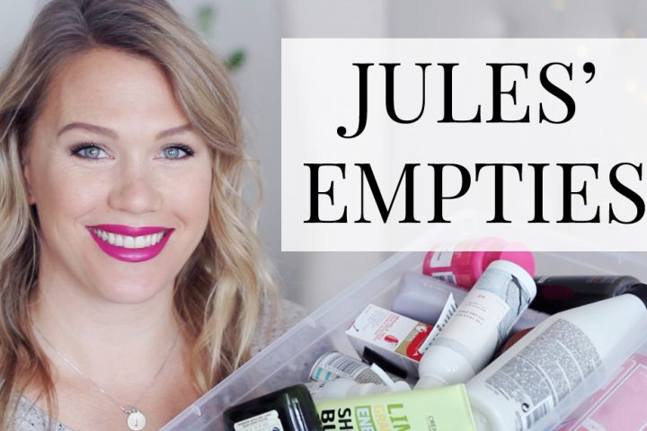 Jules' Empties - November 2016 | All Dolled Up