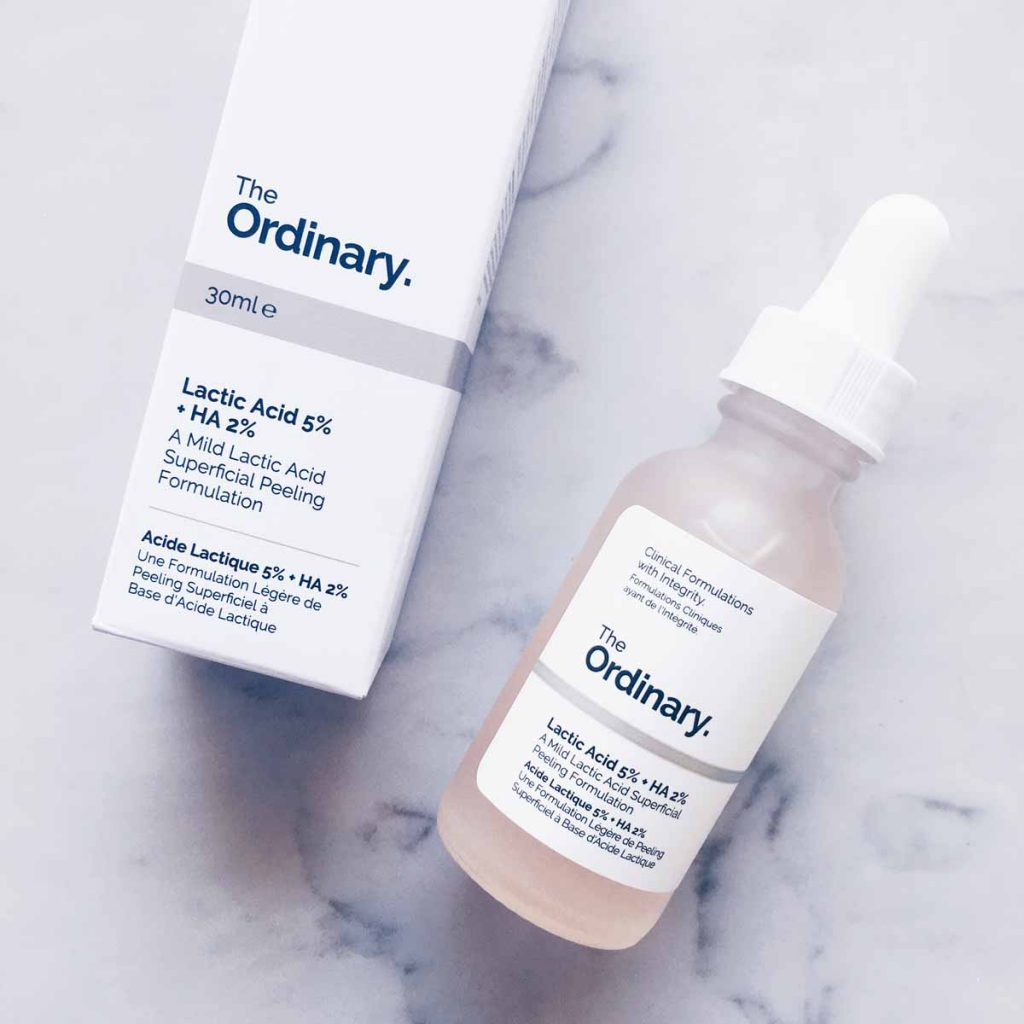 The Ordinary Skincare Lactic Acid 5% + HA 2% | All Dolled Up