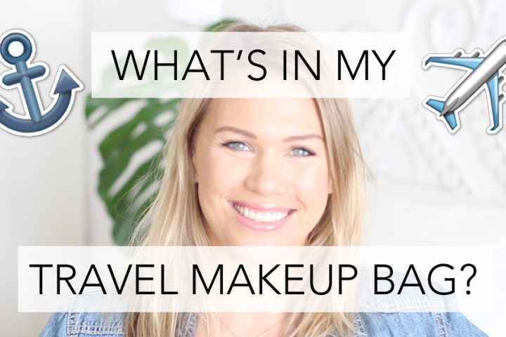 What's In My Travel Makeup Bag | All Dolled Up