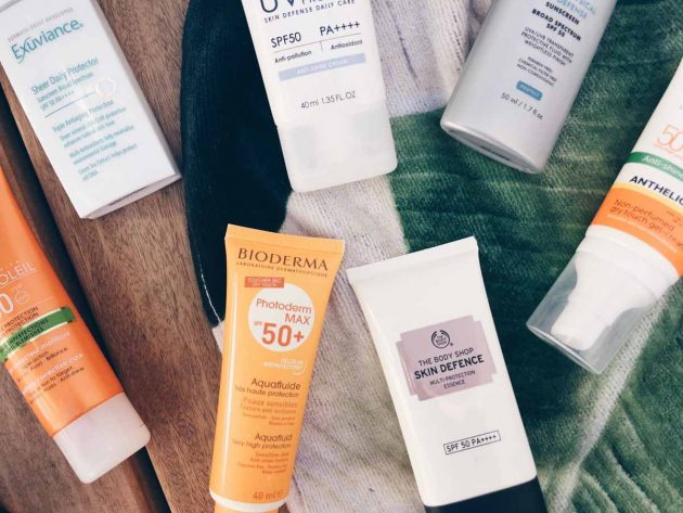 Facial sunscreens you can wear under makeup