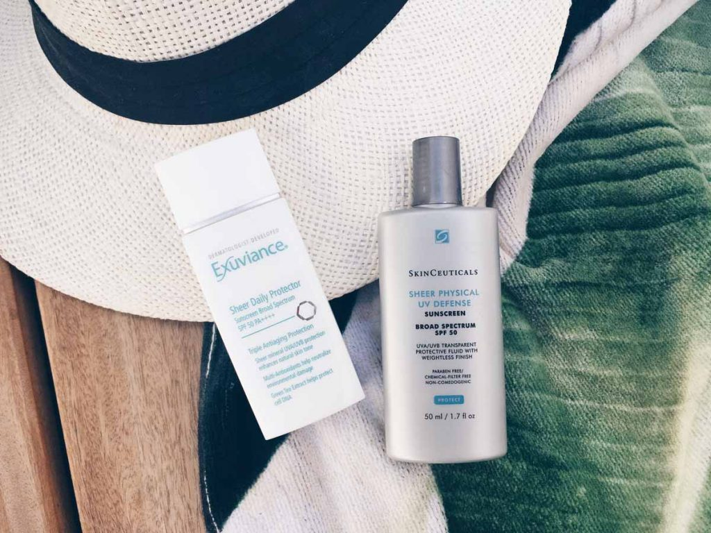 Physical mineral facial sunscreens you can wear under makeup