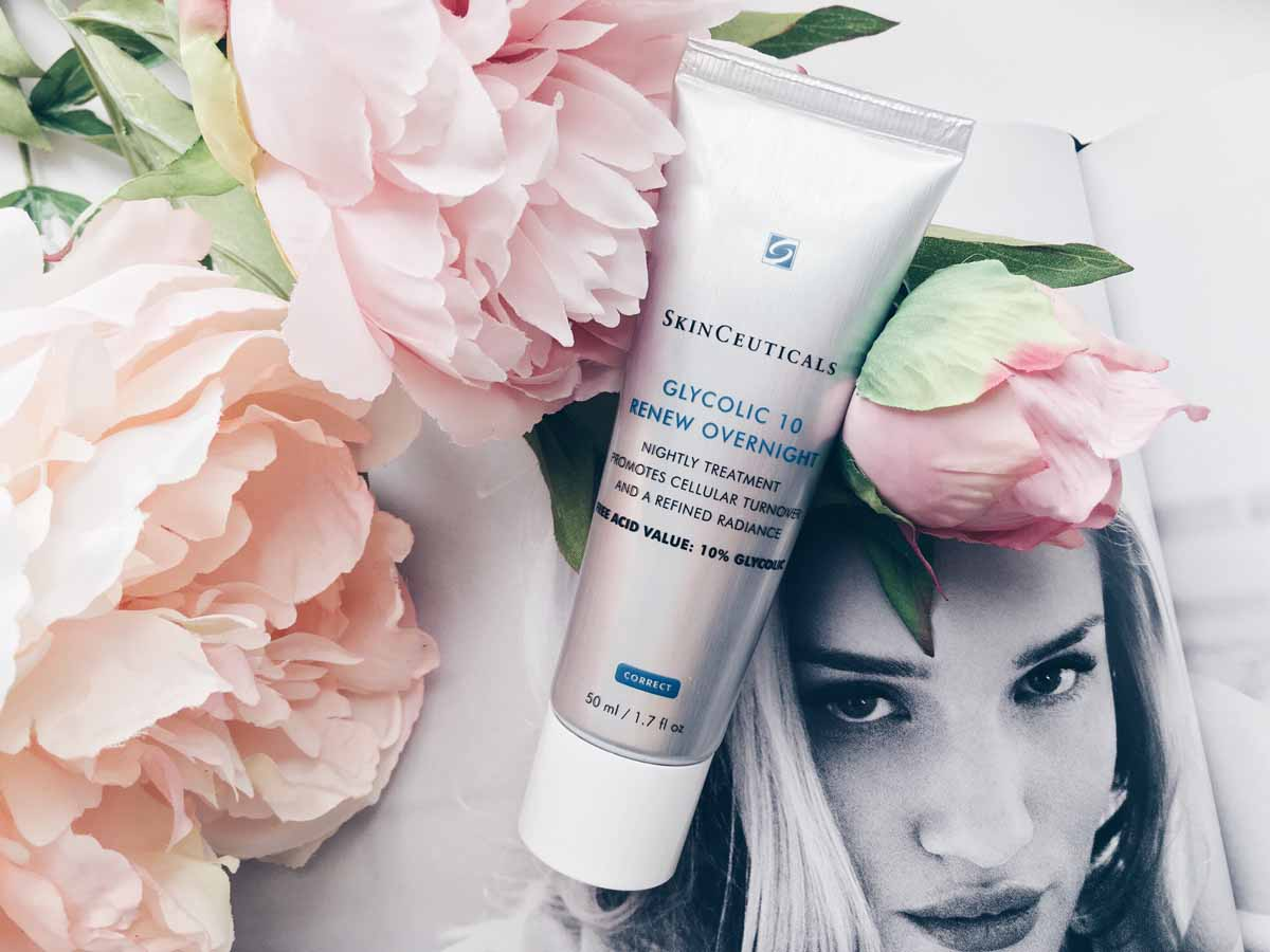 SkinCeuticals Glycolic 10 Renew Overnight Review & Giveaway – All