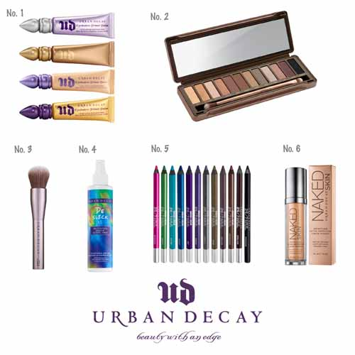 My favourite Urban Decay products