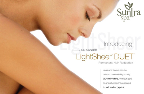 Suntra Spa laser removal special