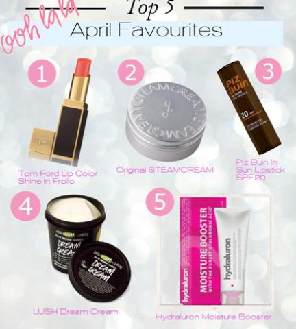 Camilla's April Favourites