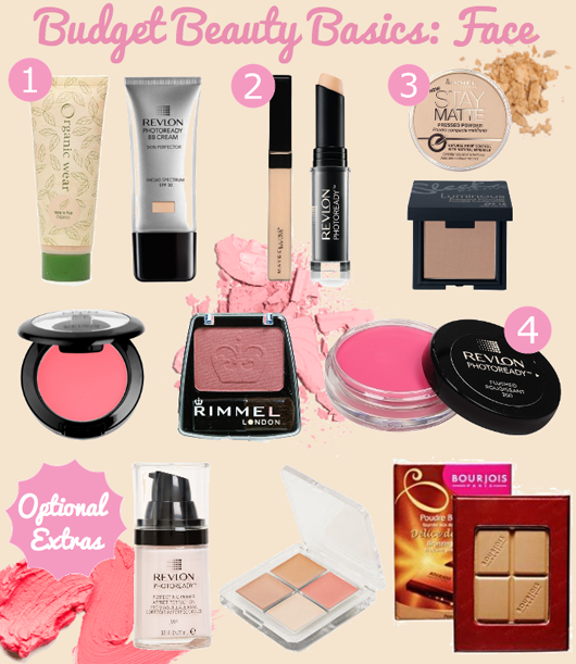 Budget Beauty Basics for the Face - All Dolled Up