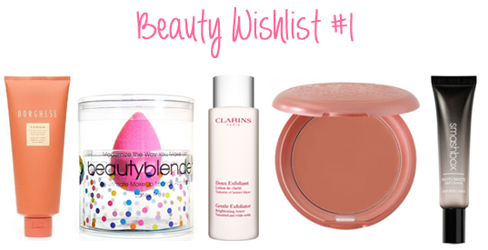 Beauty Wishlist 1