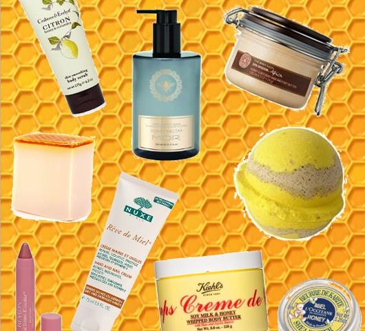 Honey-based beauty products