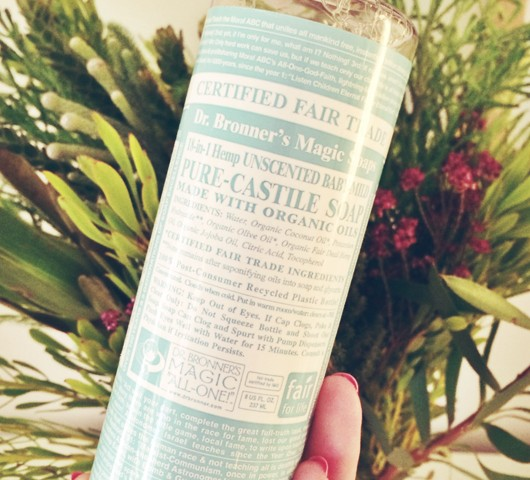 Disappointing Products: Dr Bronner's Magic Soap