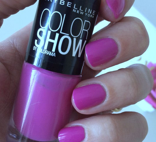"""Maybelline Color Show """"So Chic Pink"""" - All Dolled Up"""