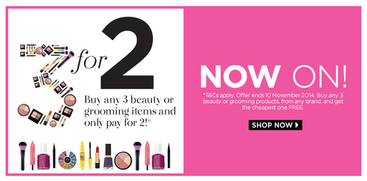 3 for 2 at Spree | All Dolled Up