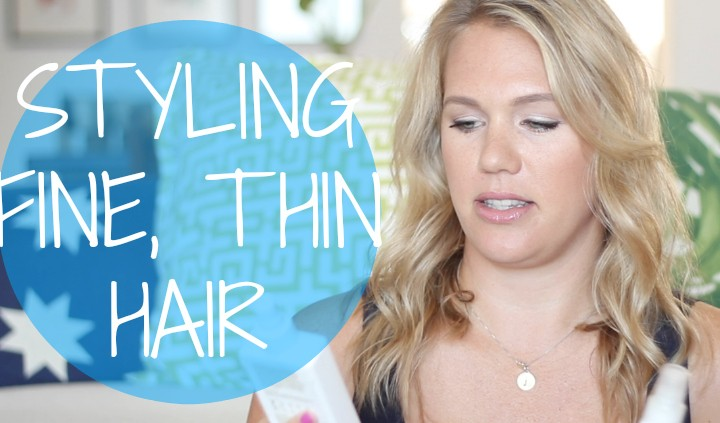 How to Style Fine, Thin Hair | All Dolled Up